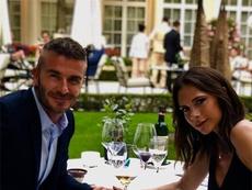David y Victoria Beckham . Instagram/davidbeckham