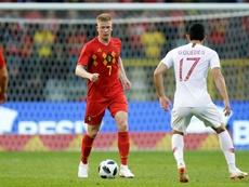 Bélgica, França e Brasil formam o pódio do ranking da Fifa. AFP