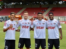Gustavo Maia's future is not so clear. Twitter/SaoPauloFC