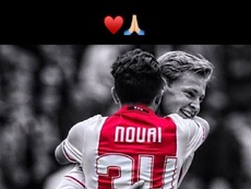 De Jong celebrates his friend's birthday. Instagram/FrenkieDeJong
