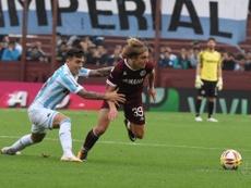 Inter su De La Vega. Twitter/clublanus