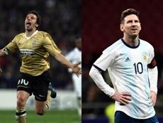 Del Piero alabó a Cristiano, pero no se olvidó de Messi. BeSoccer/EFE