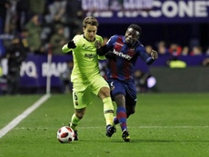El Levante no acepta la resolución de la Jueza de Competición. FCBarcelona