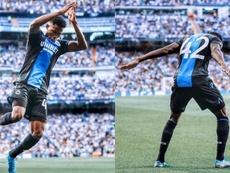 Emmanuel Dennis conquistó al mundo en el Bernabéu. ClubBrugge