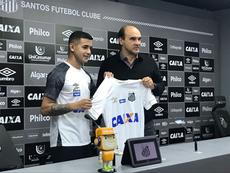 Derlis González ya ha tomado una decisión. Twitter/SantosFC