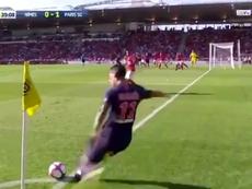 El gol de Di María fue una obra de arte. Captura