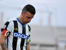 L'ex attaccante e capitano dell'Udinese Totó di Natale. Twitter