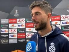 Dídac Vilà analizó la eliminatoria ante los Wolves. Captura/RCDEspanyol