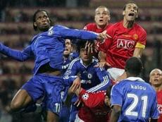 Cómo han cambiado United y Chelsea desde la final de la Champions. AFP