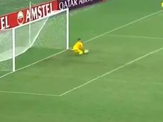 La Copa Libertadores ya conoce la gran virtud de Alves. Captura