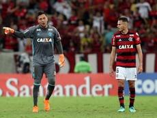 Diego Alves podría llegar para el partido ante Corinthians. Flamengo