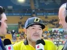Mais um lamentável Maradona. Captura