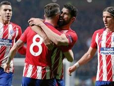 El Atlético no tendría ofertas ni por Costa ni por Saúl. EFE