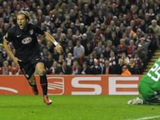 L'Atlético a déjà éliminé Liverpool par le passé. AFP