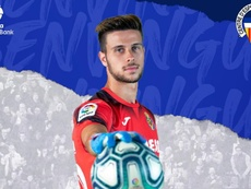 Diego Fuoli, nuevo jugador del Sabadell. Twitter/CESabadell