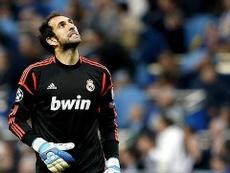 Diego López, en la órbita del Madrid para sustituir a Navas. EFE