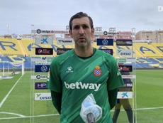 Diego López analizó el choque ante Las Palmas. DUGOUT