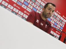 Martínez analizó la victoria y el liderato. GranadaCdeF