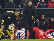 Simeone cree que el adiós de Lucas fue el más difícil de digerir para el Atlético. EFE