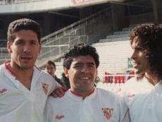 Siguen filtrándose detalles de la etapa de Maradona en el Sevilla.