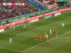Tous au Gnabry, sublime but de l'Allemand. Capture/MovistarFutbol