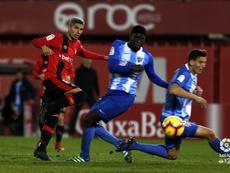Moreno se mostró muy descontento con la actuación arbitral. LaLiga