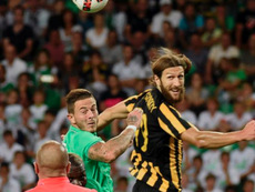 Chygrynskiy will continue at AEK Athens. AFP