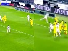 Doppietta di Ronaldo contro il Cagliari. MovistarLigadeCampeones