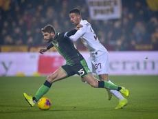Un torbellino arrolla a la Roma. Twitter/OfficialASRoma