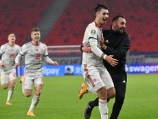 Arsenal want Szoboszlai. EFE