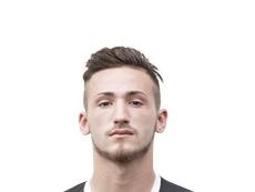 Donis Avdijaj, delantero del Sturm Graz. SKStrum