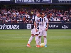 Un penalti en el 92' saca al Castellón del 'play off'. Twitter/CD_Castellon