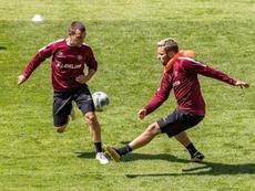 Otros dos positivos en el Dynamo Dresden. Twitter/DynamoDresden