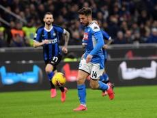 Napoli e Inter de Milão fazem uma das semifinais da Copa da Itália. SSCNapoli