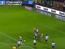 Gol espectacular en México. Twitter/5tv