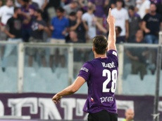 Vlahovic evitó un disgusto grande a la Fiorentina. ACFFiorentina