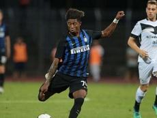 Eddie Salcedo, jugador de manera definitiva del Inter. Inter