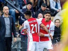 La prensa holandesa cargó contra Édson Álvarez tras la eliminación. Twitter/Ajax