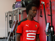 Camavinga no se moverá del Rennes. Twitter/staderennais