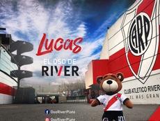 L'ours Lucas a été annoncé sur les réseaux sociaux. OsoRiverPlate