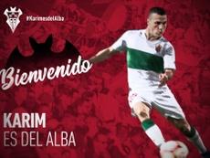 Karim ya es del Albacete. Albacete
