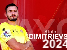 Dimitrievski renueva hasta 2024. Rayo Vallecano
