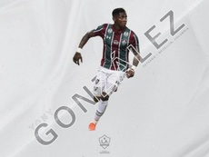 Yony Gonzalez, o novo reforço do Los Angeles Galaxy. LAGalaxy