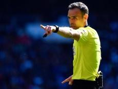 Cuadra Fernández, uno de los nuevos árbitros FIFA. AFP