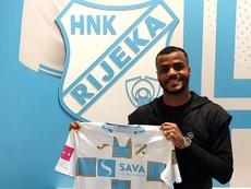 Felipe Pires fue presentado como nuevo jugador del Rijeka. NKRijeka