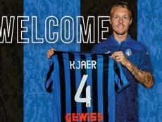 Simone Kjaer has moved to Atalanta on loan from Sevilla. Atalanta