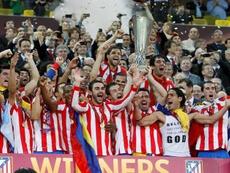 Se cumplen seis años de la segunda Europa League del Atlético. EFE