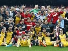 El Atleti consiguió el título de Liga en 2014. EFE