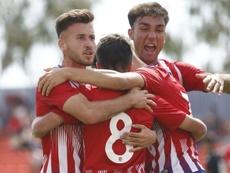 Con un global de 5-4, el Atlético se mete de lleno en la final. Twitter/AtletiAcademia