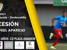 Daniel Aparicio, nuevo jugador del Barakaldo. Twitter/barakaoficial